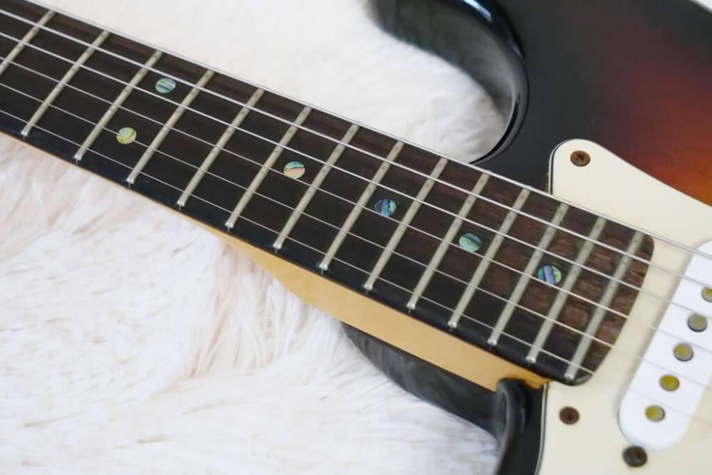 交換前ギター