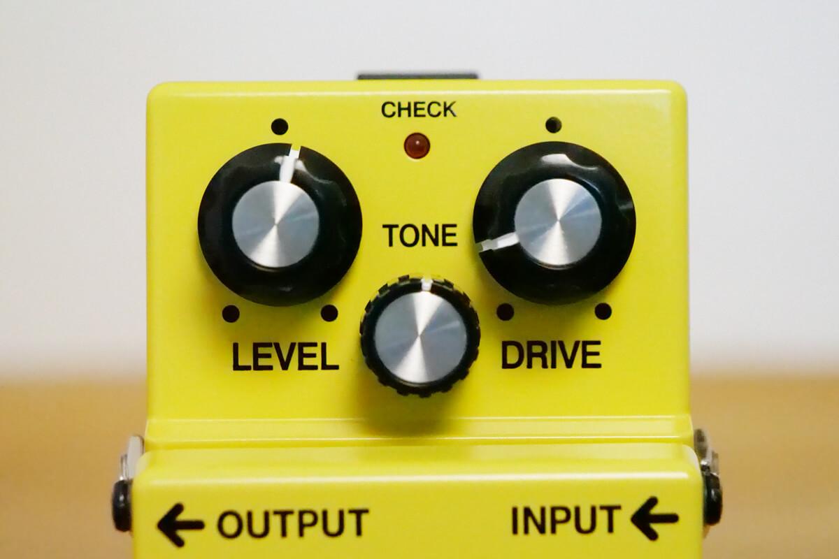 BOSS SD-1:コントロール