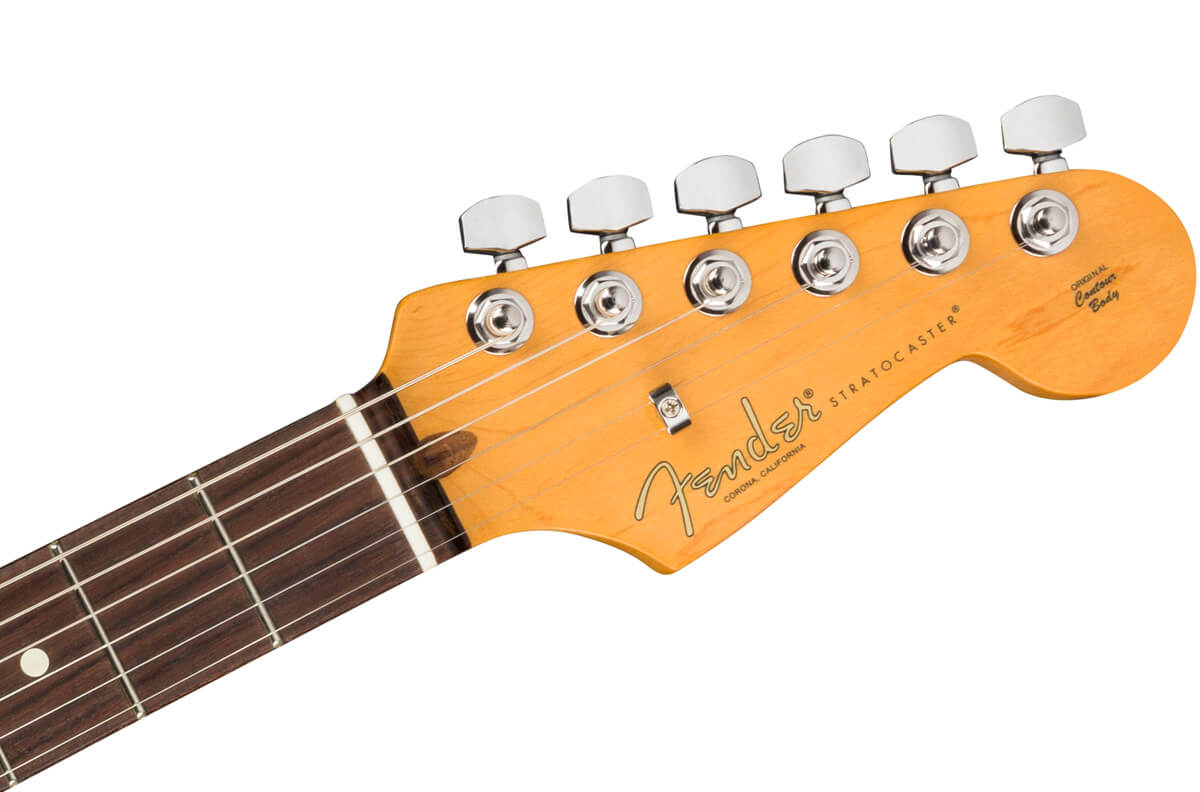 American Professional II Stratocaster:ヘッド