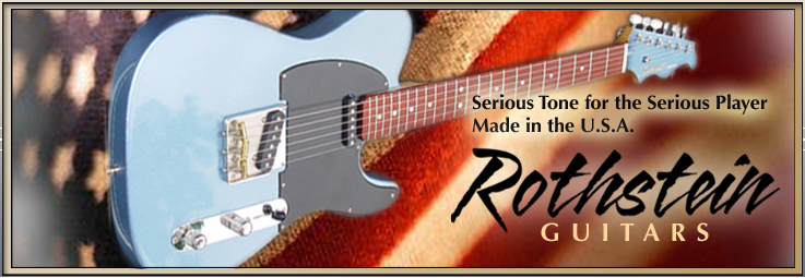 Rothstein Guitars O Passive Midrange Controls
