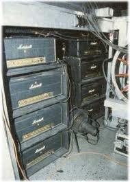 Angus Young AC/DC Marshall Amplifier Head Rack