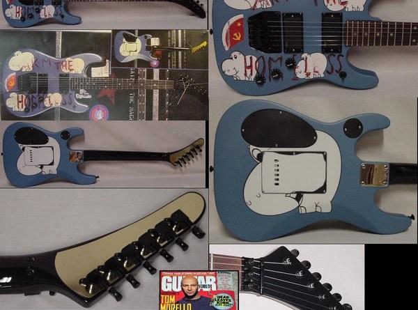 Tom Morrello Arm Homeless Guitar