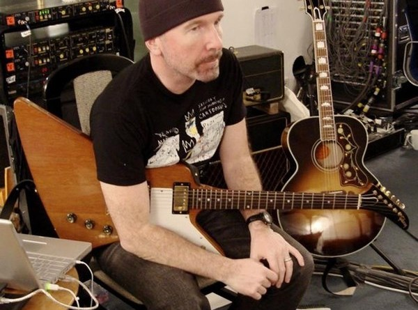u2 edge studio guitar