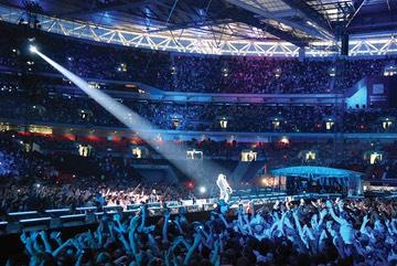 Foo Fighters Live Stadium Shot