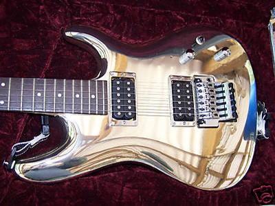 Satriani Chrome Ibanez JS10