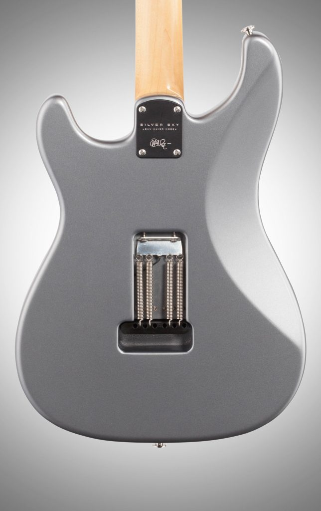 john mayer prs silver sky guitar back