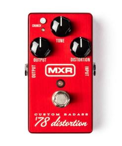 MXR 78 Badass Distortion