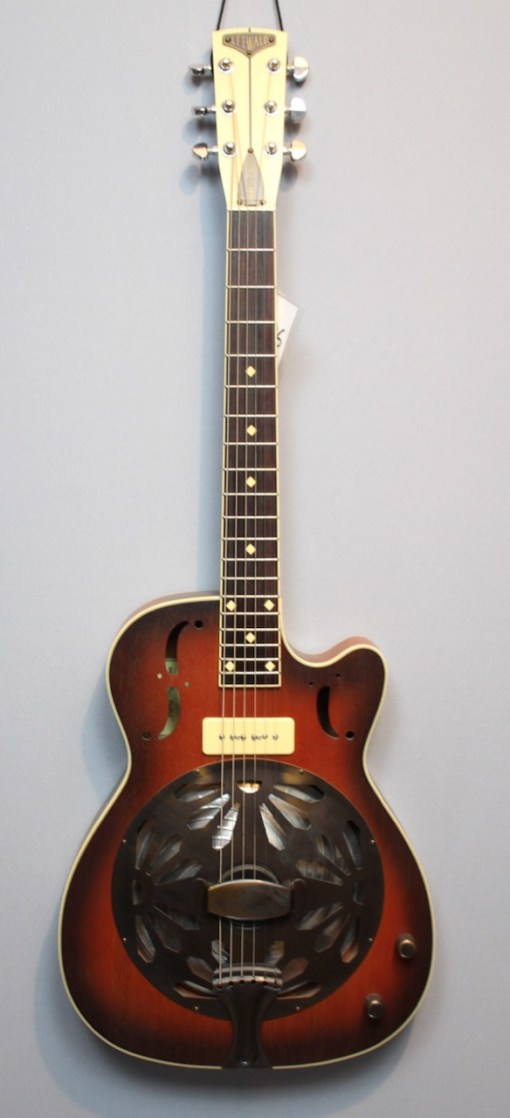 Leewald Stager Duotone Wood Resonator Gitarre
