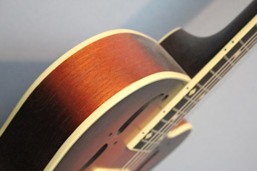 Leewald Stager Duotone Wood Resonator Gitarre