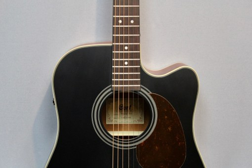Cort MR 500E blk Westerngitarre