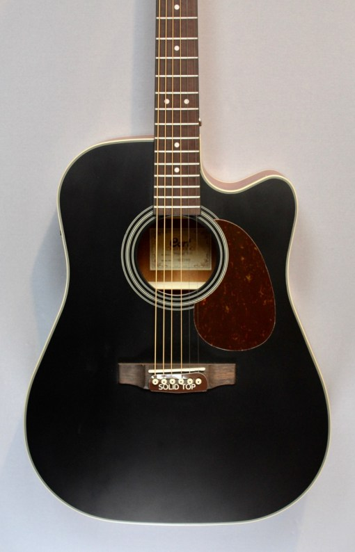 Cort MR 500E blk Westerngitarre3