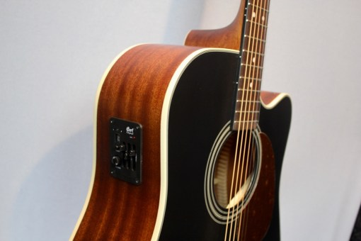Cort MR 500E blk Westerngitarre1