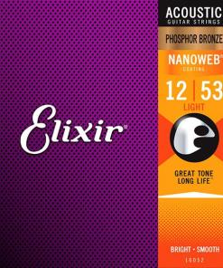 Elixir Nanoweb Light Acoustic