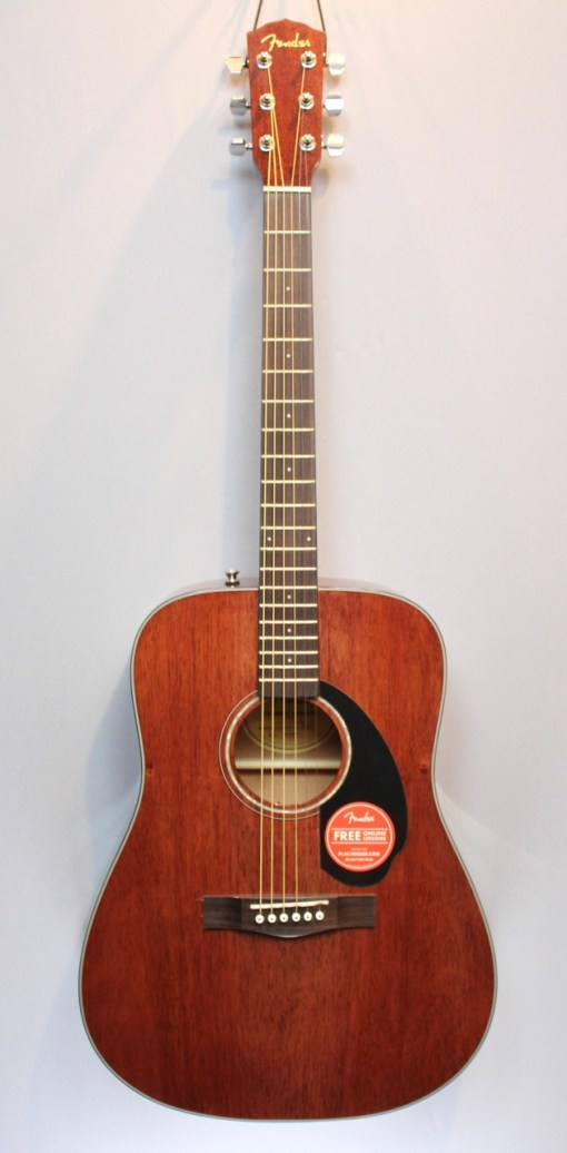 Fender CD-60S All Mahagoni Folkgitarre Guitar Shop Berlin