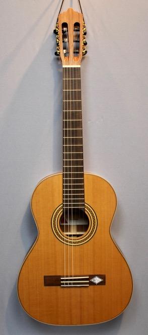 La Mancha CM-59 Konzertgitarre für Anfänger Front