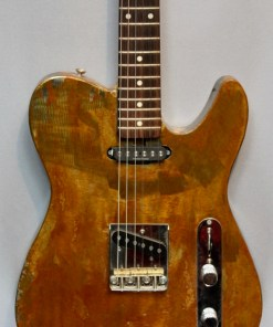 Metallbody E-Gitarre