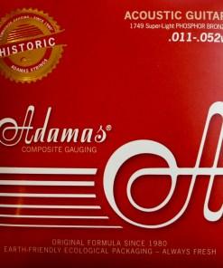 Adamas 1749 Saitenset für Westerngitarre – American Guitar Shop -