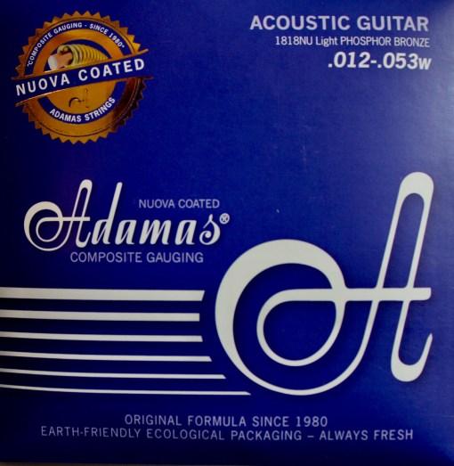Adamas 1818NU Saitenset für Westerngitarre American Guitarshop Berlin