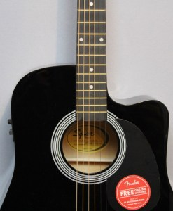 Fender Squier SA-105CE BK Berlin