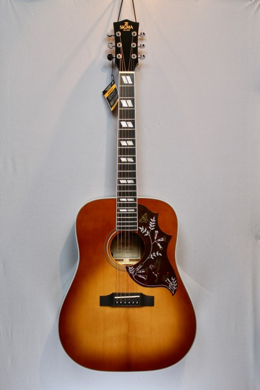 Sigma Guitars DM-SG5+ Folk Gitarre 4