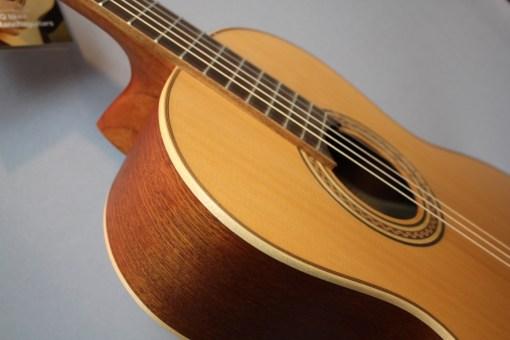 La Mancha Rubi CM63 N Konzertgitarre 1