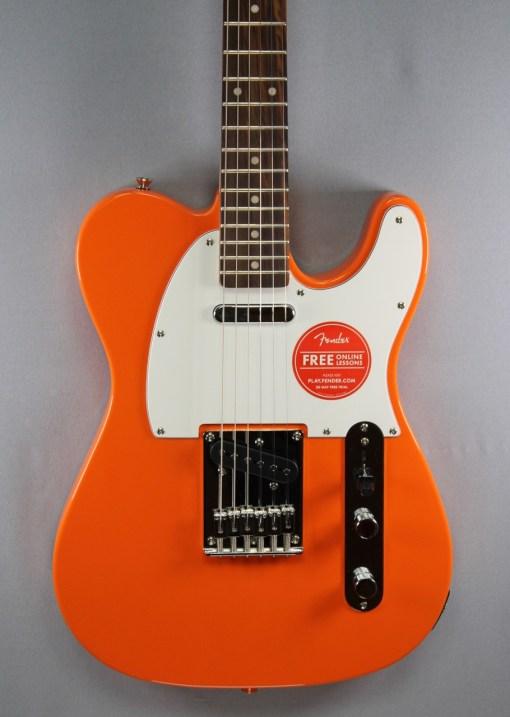 Fender Squier Affinity Tele Orange 6