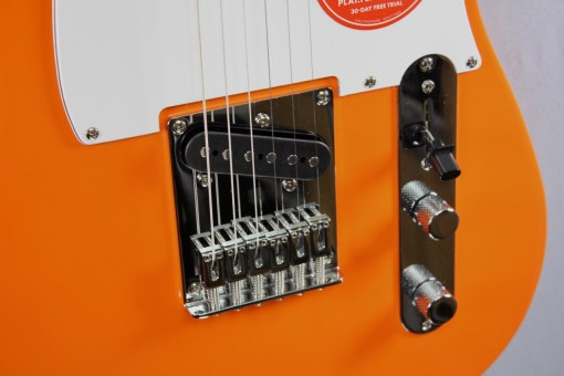 Fender Squier Affi­nity Tele Orange 4