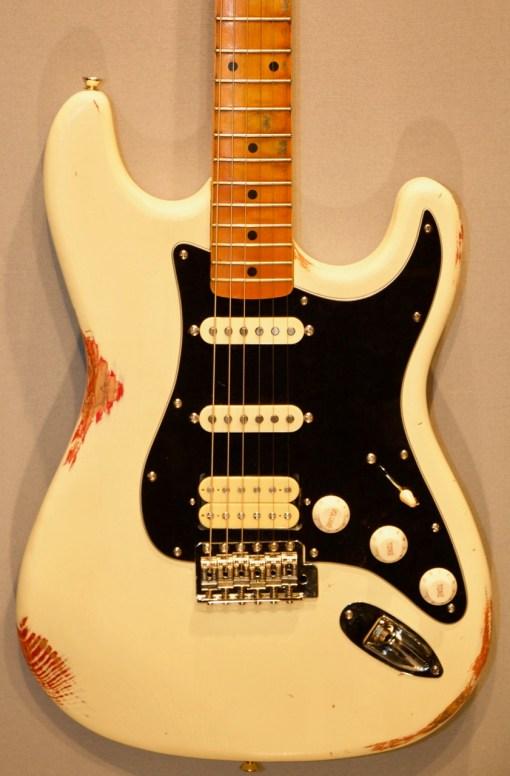 Berlin Custom Guitars O-Caster Fire and Ash 6