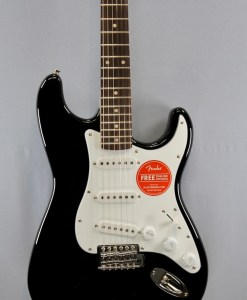 Fender Squier Affinity Strat RW Black 2