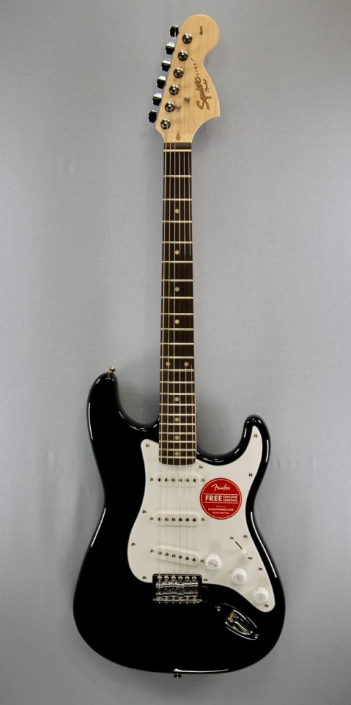 Fender Squier Affinity Strat RW Black 1
