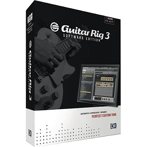 Guitar Rig 3 Software Edition