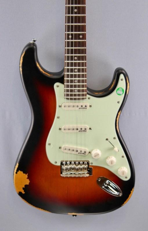Vintage Icon Serie V6MRSSB E-Gitarre 6