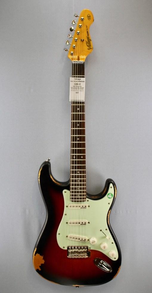 Vintage Icon Serie V6MRSSB E-Gitarre 5