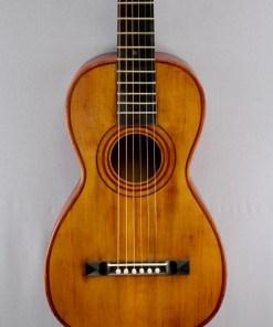 Alte Parlour Gitarre 12