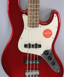 Jazz Bass Contemporary Dark Metallic Red 5