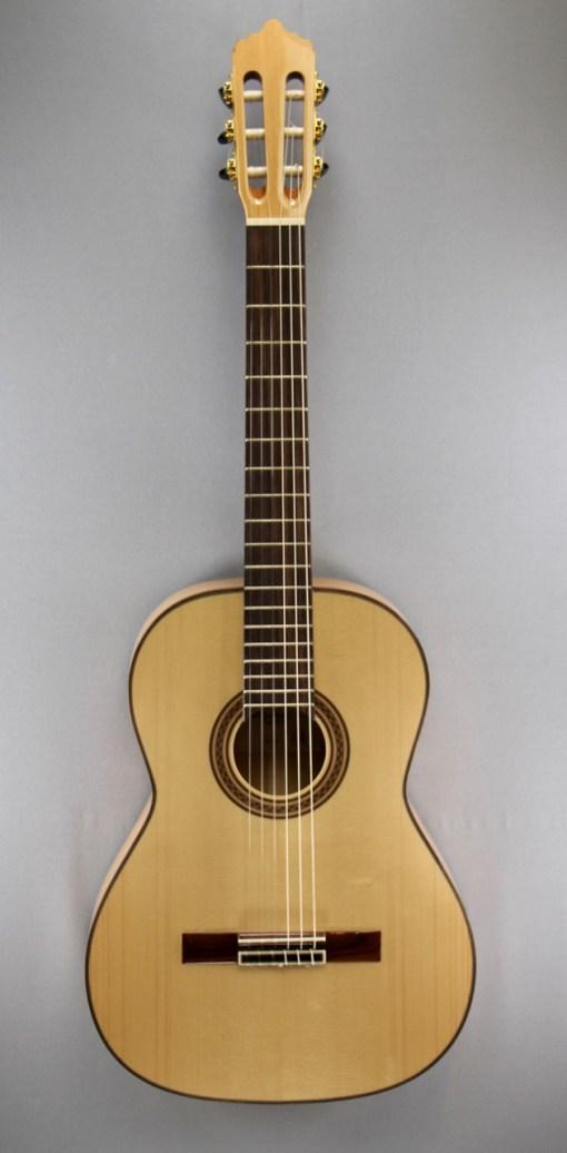 La Mancha Amber Linkshand Flamencogitarre 5