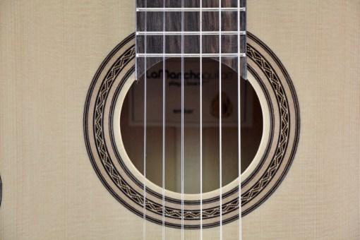 La Mancha Amber Linkshand Flamencogitarre 4