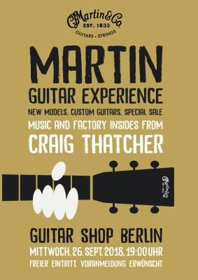 CF Martin Clinic Tour 2018