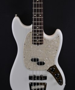 Fender AM Perf Mustang Bass RW White