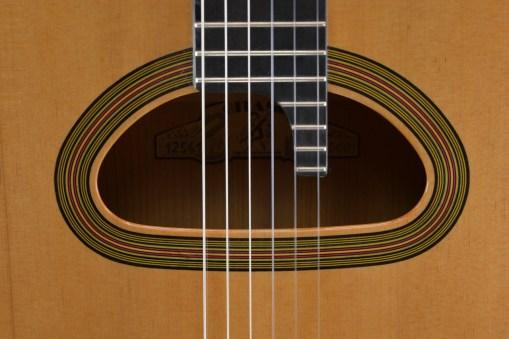 Schalloch Gitarre