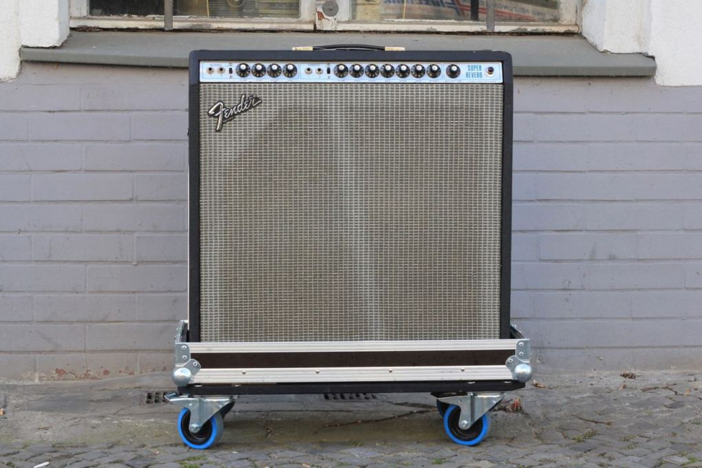"1980 Fender Super Reverb 4x10"" / Export version"