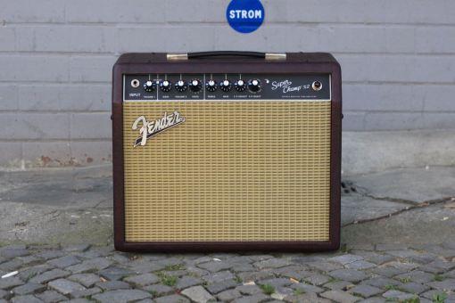Fender FSR SUPER CHAMP X2 Cabernet Blues