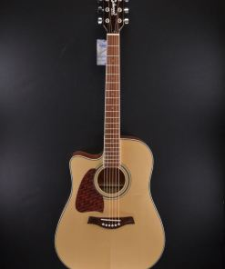 Richwood RD17LCE Western-Gitarre für Linkshänder