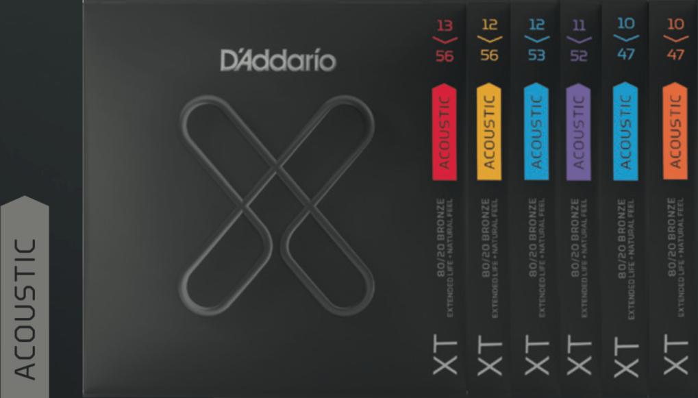 Daddario X-Serie fuer Akustik Gitarre