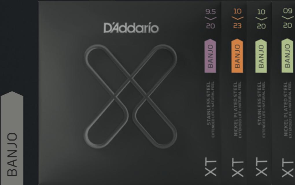 Daddario X-Serie fuer Banjo