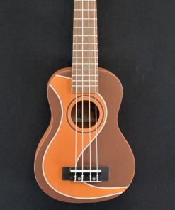 VGS Manoa Sopran Ukulele Moddy Road Brown