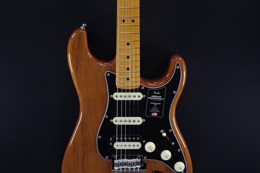 Fender AM Pro II Strat HSS MN RST PIN