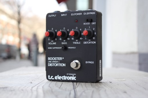 TC Electronic Booster+ Line Driver & Distortion 1980s