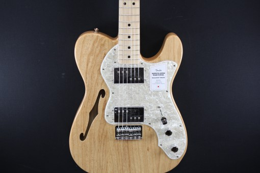 Fender MiJ Traditional 70s Telecaster Thinline MN Natural