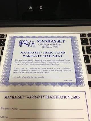 「MANHASSET (マンハセット)M50C 譜面台 オーケストラコンチェルトモデル